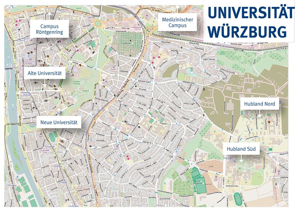 Universität Würzburg Werbung